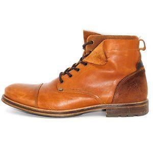"""BullBoxer """"Kelden""""Handcrafted Leather Combat Boots"""